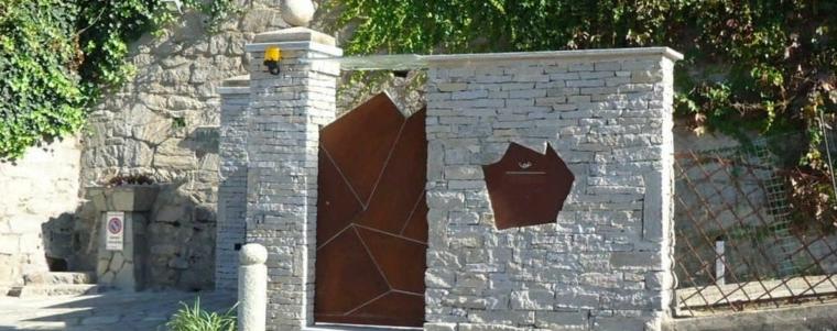 portail jardin acier
