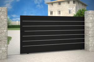 portail-alu-coulissant-noir